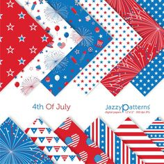 patriotic paper to make your own crafts