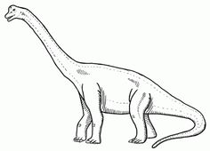 the most awe inspiring dinosaurs brachiosaurus coloring picture | 26 ...