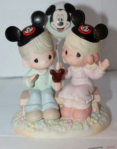 Mickey Mouse and Precious Moments!!!!!