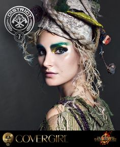 Get the tips and tricks to create COVERGIRL's District 7 nail look, inspired by The Hunger Games: Catching Fire.