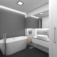 Moderní koupelna TORONTO - Pohled od vstupu