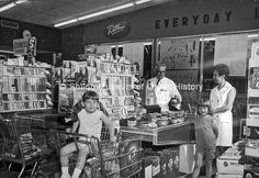 Dillons Grocery Store, Fayetteville, May 1970...(Just a little before my time, but would have loved working there before Best Practices, Key Retailing, and computers.)