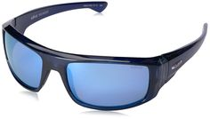 Revo Re 5006x Dash Wraparound Polarized Wrap Sunglasses, Crystal Blue Blue Water, 60 mm. Case included. Lenses are prescription ready (rx-able). Revo high-contrast polarized serilium lenses. Lightweight, shatterproof lens formulated of polycarbonate. 8-base lens technology. Most curved fit relative to your face.