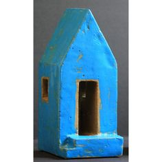 Small House Sculpture with porch by HiddenSpringDesign on Etsy