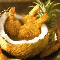 Coconut Shrimp with Orange Ginger Marmalade