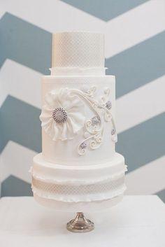 Wedding #Wedding Cake| http://specialweddingcakeideas.blogspot.com