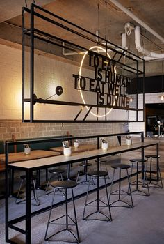 Preach Café by De Simone Design. Photo by Dave Wheeler. – Paranyoo Phatkim Preach Café by De Simone Design. Photo by Dave Wheeler. Preach Café by De Simone Design. Photo by Dave Wheeler. Café Design, Deco Design, Home Design, Design Ideas, Design Hotel, Design Trends, Design Shop, Graphic Design, Cafe Shop