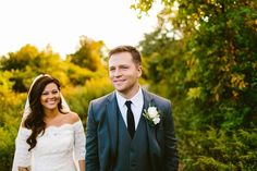 A beautiful wedding shot at the neighboring Forsythe Refuge. Photo credit - Redfield Photography #wedding #outdoorwedding #nature