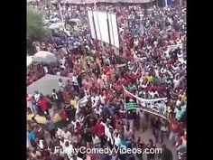 Biafra Protest In Nkpor Onitsha