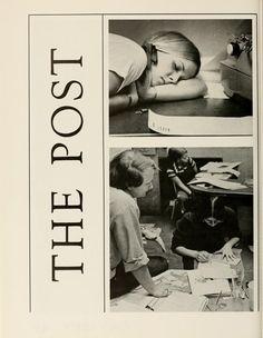 Athena yearbook, 1973. The Post. :: Ohio University Archives