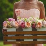 How to save on wedding flowers.