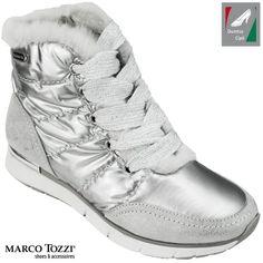 Marco Tozzi női hótaposó 2-26282-21 948 ezüst kombi 2d65f70dc4