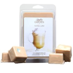 Grab a hot cup of this warm mix of delicious vanilla cream and hearty roasted coffee beans with undertones of sugar and cocoa! You will be surrounded by this subtly sweet and tasty aroma as if you are sitting in your favorite coffee shop in your own home. Natural soy Vanilla Latte scented candles and tarts. - See more at: https://www.jewelryincandles.com/store/sarasjic/p/299/vanilla-latte-tart/#sthash.0XhfylWQ.dpuf