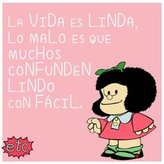 Mafalda Fly Quotes, Qoutes, Positive Vibes, Positive Quotes, Mafalda Quotes, Catholic Quotes, Life Words, Quotes And Notes, Spanish Quotes