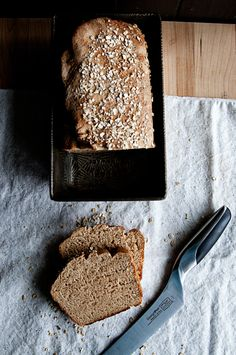 Country Oatmeal Bread (bread Machine)