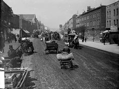 Old Kent Road, Southwark, c 1885