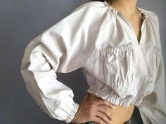Jean-Paul Gaultier Femme bomber cropped white linen jacket vtg Gaultier crop jacket JPG jacket white cropped cotton JPG Femme jacket 1990s