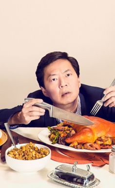 The Best Thing Comedian Ken Jeong Ever Ate Was Tofurky (No Joke) Funny Men, Funny People, Celebrity Portraits, Celebrity Photos, Male Celebrities, Celebs, Mr Chow, Ken Jeong, Funny Photography