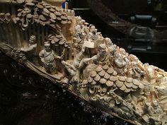 Ancient Woolly Mammoth Tusk Carving in Las Vegas Las Vegas, Ivory, Carving, Jewelry, Jewels, Last Vegas, Wood Carving, Schmuck, Sculpture