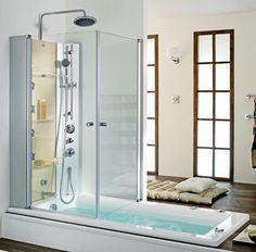 La dernière tendance : une baignoire-douche - CôtéMaison.fr