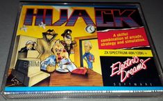 Hijack: CONDITION:- GREAT COMPATIBILITY:- ZX SPECTRUM 48K/128K FORMAT:- CASSETTE CASE/BOX TYPE:- DOUBLE CASSETTE / JEWEL    Quick… Cassette, Spectrum, Computers, Conditioner, Adventure, This Or That Questions, Retro, Software, Electronics