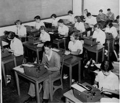 1957 typing class