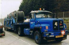 U.J. Semi Trailer, Heavy Duty Trucks, Old Trucks, Cars And Motorcycles, Transportation, Jeep, Germany, Nice, Vintage