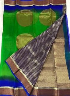 Latest Antique Pure Organza Silk Sarees
