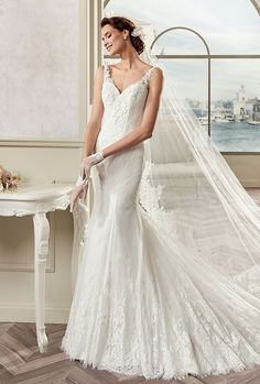 Mermaid Wedding Dresses : Nicole Spose 2017 Colet Wedding Dress
