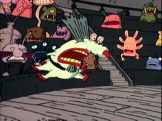 Opening for Aaahh!!! Real Monsters: Season One. Available on DVD October 4th, 2011. More info: http://www.shoutfactorystore.com/prod.aspx?pfid=5257490