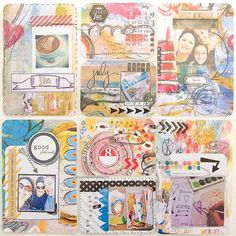 Take your art journal pages to the next level with  @Roben Callison Callison Callison-Marie Roberts Smith's easy DIY!