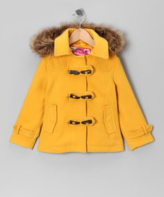 Take a look at this Dollhouse Marigold Toggle Coat - Girls on zulily today!