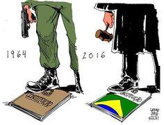 Denunciar o movimento golpista que está em marcha no Brasil não é relativizar casos de corrupção ou tampouco defender incondicionalmente o Partido dos Trabalhadores.Não concordar com um governo não é um motivo plausível para derrubá-lo. Infelizmente, muitas pessoas não aprenderam com o triste exemplo de 1964.
