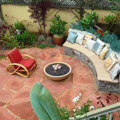 Patio Concrete Planter Design, Pictures, Remodel, Decor and Ideas - page 15