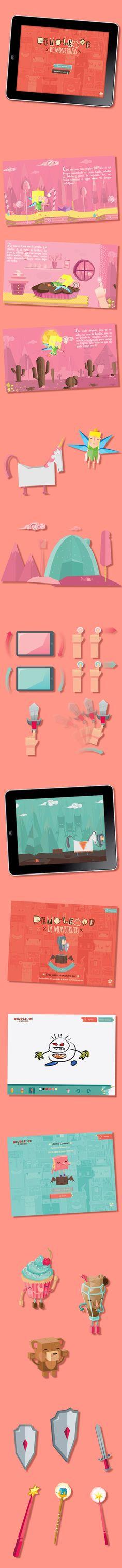Demoledor de Monstruos / Monster Wrecker iPad Game on Behance