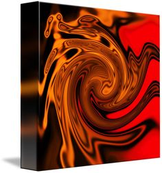 """firestorm"" by Jane (Jinx) Tellam, Buxton, Peak District // Abstract art of a flame by J.M.Tellam BA (hons) copyright Mindgoop // Imagekind.com -- Buy stunning fine art prints, framed prints and canvas prints directly from independent working artists and photographers."