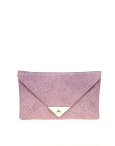 Pastel purple clutch from asos