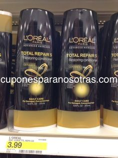 Target: L'oreal Advanced Productos para el Cabello GRATIS!