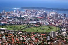 Durban from the Berea, South Africa News South Africa, Durban South Africa, Apartheid Museum, Namibia, Kwazulu Natal, Sun City, Out Of Africa, Kruger National Park, Beautiful Beaches