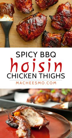 Hoisin Chicken Thighs: Grilled over low heat for hours until the meat is so tender and the skin crispy and glazed with a simple hoisin BBQ sauce. Plus, learn my secrets to controlling browning on the grill!