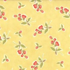 Avalon Fig Tree Fabric from Moda  yellow by timelessquilts on Etsy, $9.50