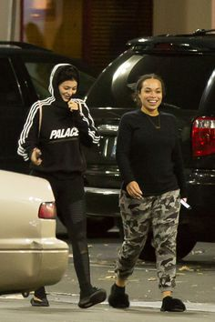 "adore-jenners: ""January 14: Kylie and Heather Sanders out and about in Canoga Park [HQs] """