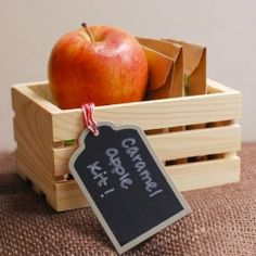 Need a fun party favor? Discover how to make a caramel apple kit perfect for any fall themed party or gathering.