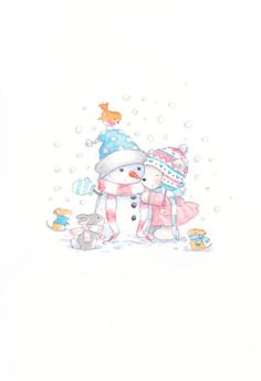 Annabel Spenceley - snowy polar bear 1.jpeg