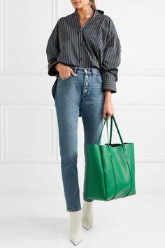 Balenciaga   Shopper medium leather tote   NET-A-PORTER.COM