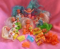 """""""Shimmers"""" 1980's toys."""