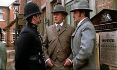 Image result for Lewis Collins in The Real Inspector Hound