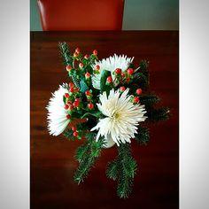 Winter Flower Arrangement Winter Flower Arrangements, Winter Flowers, Kitchen, Plants, Cooking, Kitchens, Plant, Cuisine, Winter Floral Arrangements