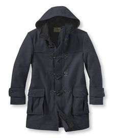 Authentic Wool Duffel Coat: Jackets and Coats | Free Shipping at L.L.Bean