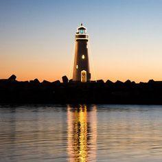 Lighthouse in Santa Cruz via flickr